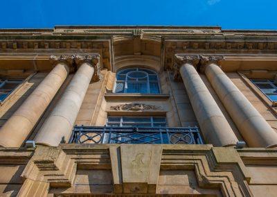 Oldham public window renovation conservation